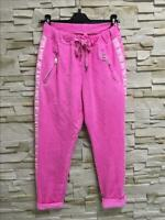 Made in Italy Freizeit Jeans Hose Jogger Joggingpant Gr. S rosa pink blogger