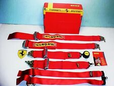Ferrari 360 Seat Belts_Six Point Harness_Challenge_SABELT_183380_NEW IN BOX_OEM