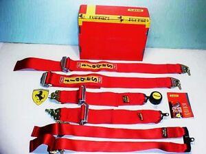 Ferrari 360 Seat Belts_Six Point Harness_Challenge_SABELT_183380_NEW IN BOX_OEM