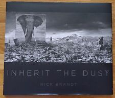 SIGNED - NICK BRANDT - INHERIT THE DUST - 2015 1ST EDITION & 1ST PRINTING - NICE