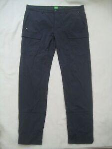 """Hugo Boss Grey Golf Cargo Trousers - Size 36"""" Waist Regular"""