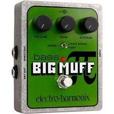 Electro-Harmonix Xo Bass Big Muff Pi Distortion Effects Pedal