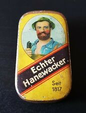 BlechDose Schachtel - Echter Hanewacker - Kautabak Nordhausen Tabak ZUSTAND