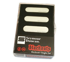 Seymour Duncan AS-1s Blackouts Active White Pickups for Fender Strat® 11206-12-W