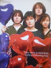 My Bloody Valentine, London, 1990 - Laminated A4 Press Poster