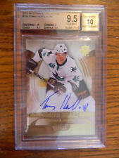 2013-14 Ultimate Collection Tomas Hertl Rookie Auto /99 BGS 9.5 RC
