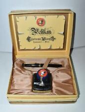 Old Style Pelikan Souveran M400 Fountain Pen Black With Gold Trim 14K Fine Nib