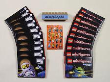 LEGO - Series 15 Posters Lot 20 pcs - Minifigures Leaflet Insert Pamphlet Flyer