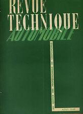 (C16) REVUE TECHNIQUE AUTOMOBILE TALBOT / Tableau atelier ALIMENTATION