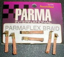 3 Pair PARMAFLEX BRAID Pick-up Brushes1970 Vintage Slot Car 1/24 scale NOS PARMA
