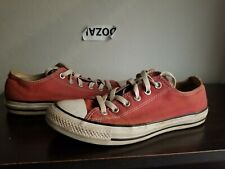 Converse All Star Chuck Taylor Low red preowned Shoes Size Men 7