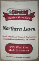 """Superior Northern Lawn Seed Sack Bright Coloring 24"""" x 15.5"""""""