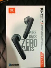 JBL TUNE 220 TWS  True wireless earbuds headphones BLACK Genuine Brand New