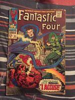 Fantastic Four 65  1st Ronan Captain Marvel Movie Silver Age Key VG [Marvel]
