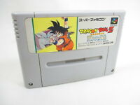 DRAGON BALL Z Saiya Super Famicom Nintendo SNES Free Shipping Hit-Japan sfc