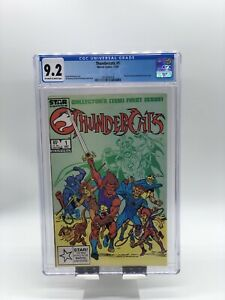 Thundercats #1 CGC 9.2 Based on the Animated TV Series (1985) Marvel Comics