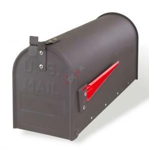 Boite aux lettres américaine - Acier gris D40748