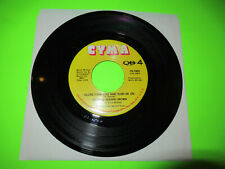 """SANDRA JEANNE BROWN THE SEED OF MUSIC / CLOSE YOUR EYES 7"""" 45 PRIVATE PRESS SOUL"""