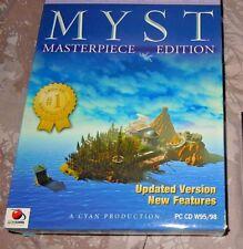Myst: Masterpiece Edition (PC:, 1996) - ORIGINAL UK BIG BOX  Version VGC