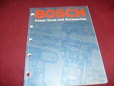 Vintage Bosch Power Tools 2002 Catalog 178 pages , drill, saw , grinder /f3
