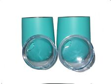 Insulated Wine Glass Tumblers 12oz Set of 2
