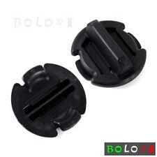 Motorcycle ABS Plastic Floor Drain Plug Body Cover For Polaris RZR XP 1000 14-17