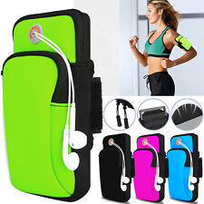 US Sports Running Jogging Gym Arm Band Pouch Holder Bag Case For Mobile Phones