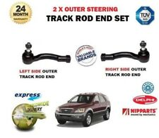 FOR KIA SORENTO 2.5TD 3.3 3.5 2003->NEW 2x OUTER STEERING RACK TRACK TIE ROD END