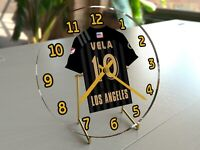 "MLS MAJOR LEAGUE SOCCER JERSEY TABLE CLOCKS - 7"" x 7"" x 2"" - FREE CUSTOMIZATION"