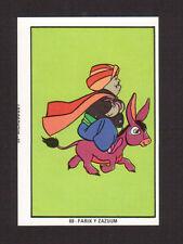 Arabian Knights Fariek Zazoom Vintage Hanna Barbera Cartoon Card from Spain
