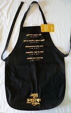 New listing New~Black Chef Apron~It's what your skillet is for~Velveeta~PortAuthorit y~FreeSh