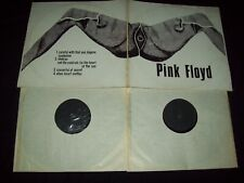 "PINK FLOYD  2LP Spread legs""Textured"" cover 1972-black labels LIVE - rare"