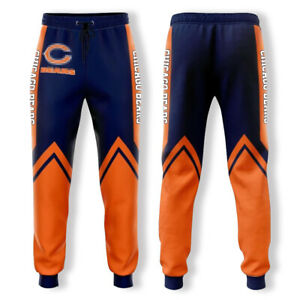 Chicago Bears Football Casual Trousers Unisex Sweatpants Sport Jogging Pants