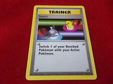 Pokémon 1999 Switch Trainer Trading Card 95/102