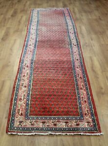 OLD WOOL HAND MADE ORIENTAL FLORAL ALL  AREAS RUG CARPET 310X 75 CM