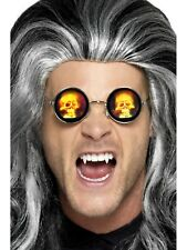 Halloween Glasses With Holographic Skull Mens Ladies Fancy Dress Accessory