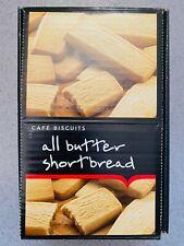 Lichfields All Butter Shortbread Café Biscuits 50g x 24 FULL BOX FAST DISPATCH
