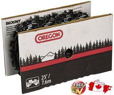 """Oregon 25 Feet Chainsaw Chain Reel 20LPX025U 0.325"""" Pitch 0.050"""" Gauge"""