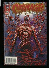 Carnage It's a Wonderful Life #1 NM+ 9.6 White Pages