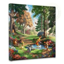 Thomas Kinkade Studios Winnie the Pooh I 14 x 14 Gallery Wrapped Canvas Disney