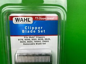 WAHL Clipper Blade Set Removable Blade Model # 2167 New