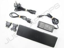 Dell D3000 SuperSpeed USB 3.0 Dual Video Docking Station Port Replicator Inc PSU