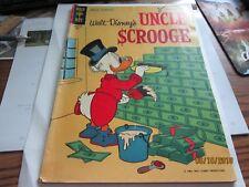 Walt Disney's UNCLE SCROOGE RARE GOLD KEY Comic BOOK 1963 Vintage