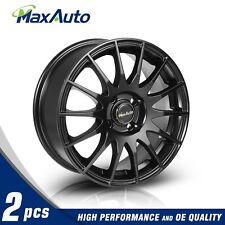 15x6.5 Rims 4x100 Matt Black Wheels For 4 Lug Civic CRX XA XB Integra (Set of 2)