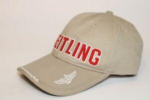 Breitling Swiss Chronographs One Size Cotton Canvas Baseball Cap Hat Promo