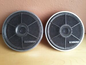 Vtg Pioneer Clarion Car Audio Stereo Speakers Dual Cone Hi Fidelity Auto Japan