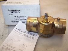"NEW SCHNEIDER ERIE 1-1/4"" TWO WAY SPRING RETURN VALVE VT2517  400 PSI MAX"