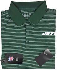 NEW Nike New York Jets Polo Shirt XXL Mens Short Sleeve Dri Fit NFL Size Sz 2XL