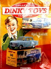 DINKY TOYS OPEL KADETT 540 MINIATURES 1:43 VINTAGE VOITURE MODEL DE AGOSTINI