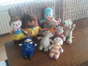 Cebeebies Plush Toy Bundle Iggle Piggle Mr Tumble Tombilbos Hey Duggee Fimble +